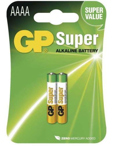 Baterie GP AAAA, Alkaline 25A, 1,5V, 1021002512 (Blistr 2ks)