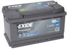 Autobaterie EXIDE Premium, Carbon Boost, 12V, 85Ah, 800A, EA852