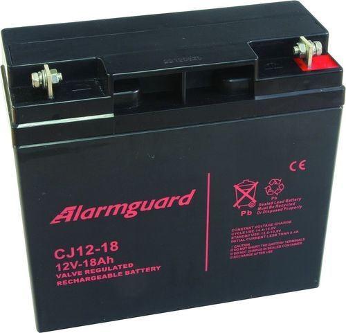 Baterie (akumulátor) ALARMGUARD CJ12-18, 12V, 18Ah