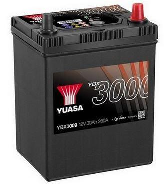 Autobaterie Yuasa YBX3000, 30Ah, 12V, 280A (YBX3009)