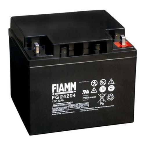 Olověný akumulátor Fiamm FG24204, 42Ah, 12V, (M6)