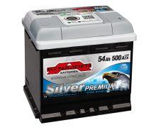Autobaterie Sznajder Silver Premium 54Ah, 12V, startovací proud 500A, 55435