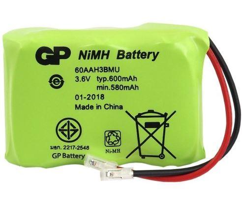 Baterie GP Gigaset T157, P-P301, 60AAH38MU, 600mAh, Ni-Mh (Blistr 1ks)