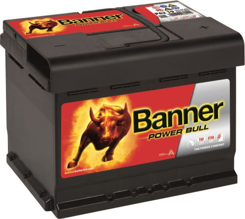 Autobaterie Banner Power Bull P62 19, 62Ah, 12V, 550A (P6219)