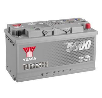 Autobaterie Yuasa Silver High Performance 100Ah, 12V, 900A (YBX5019)