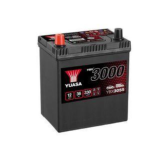 Autobaterie Yuasa YBX3000, 36Ah, 12V, 330A (YBX3055) - Japan Levá
