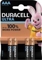 Baterie Duracell Ultra Power MX2400, AAA, (Blistr 4ks)
