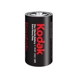 Baterie Kodak R14, C, Zinc-Chloride, 1,5V, výprodej - expirace 2018 / 1+1 ZDARMA
