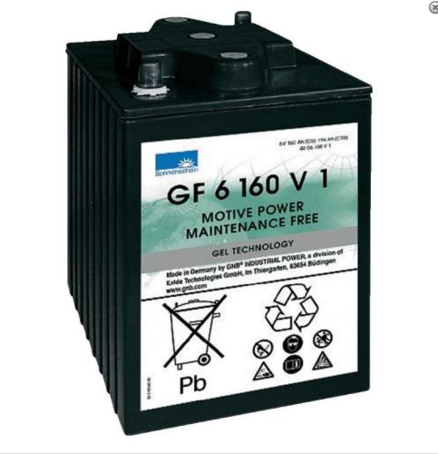 Trakční gelová baterie Sonnenschein GF 06 160 V 1, 6V, 196Ah