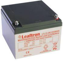 Akumulátor (baterie) Leaftron LTL12-28, 12V - 28Ah