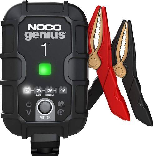 Automatická nabíječka NOCO GENIUS1 , 6/12V, 1A, (MF/AGM/GEL/STD)