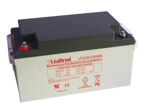 Akumulátor (baterie) Leaftron LTL12-65, 12V - 65Ah