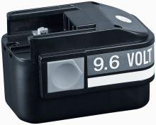 Baterie AEG 9,6V 1,6Ah HS Ni-Cd