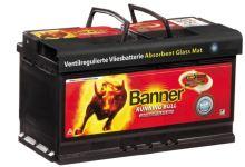 Autobaterie Banner Running Bull AGM 592 01, 92Ah, 12V, 850A (59201)