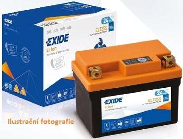 Motobaterie EXIDE BIKE Li-Ion 2,4Ah, 12V, ELTZ7S