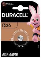 Baterie Duracell CR1220, Lithium, 3V, (Blistr 1ks)