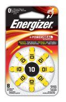 Baterie do naslouchadel Energizer 10 SP-8, (Blistr 8ks) - výprodej 01/2019
