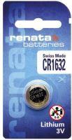 Baterie Renata CR1632, Lithium, 3V, (Blistr 1ks)
