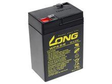 Baterie Long 6V, 4,5Ah olověný akumulátor F1