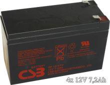 APC RBC25 - náhradní baterie ( 4 x CSB GP1272F2 )