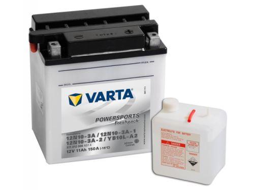 Motobaterie VARTA YB10L-A2, 11Ah, 12V