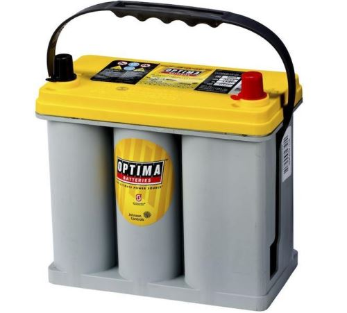 Autobaterie Optima Yellow Top R-2,7, 38Ah, 12V, 460A (8073-176)