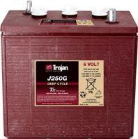 Trakční baterie Trojan J 250 G, 235Ah, 6V - průmyslová profi