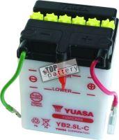 Motobaterie Yuasa YB2,5L-C, 12V, 2,5Ah