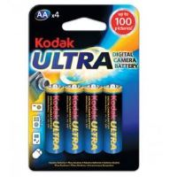 Baterie Kodak Ultra LR6, AA 1,5V, Alkaline, (Blistr 4ks)