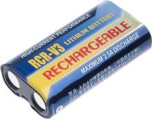 Nabíjecí baterie CRV3, CR-V3, Li-Fe 3V, 1100mAh, 3,3Wh