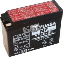 Motobaterie YUASA YT4B-BS, 12V, 2,3Ah