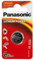 Baterie Panasonic CR2025, Lithium, 3V, (Blistr 1ks)