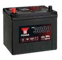 Autobaterie Yuasa YBX3000, 60Ah, 12V, 500A (YBX3014) - Japan Levá