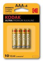 Baterie Kodak Ultra LR03, AAA, 1,5V, Alkaline, (Blistr 4ks)