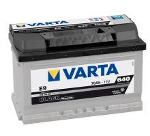 Autobaterie VARTA BLACK Dynamic 70Ah, 12V (E9)