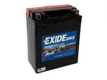 Motobaterie EXIDE BIKE Maintenance Free 14Ah, 12V, 220A, YTX16-BS