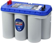 Autobaterie Optima Blue Top DC-5.5, 75Ah, 12V, 975A (8052-188)