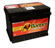Autobaterie Banner Starting Bull 560 09, 60Ah, 12V, 480A (56009)