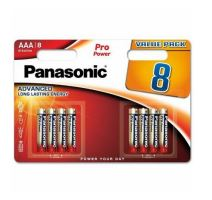 Baterie Panasonic Pro Power, LR03, AAA (Blistr 8ks)