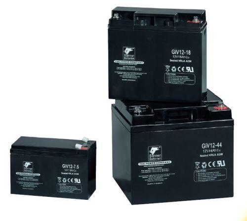 Staniční záložní akumulátor GiV 06-1.3, 6V, 1,3Ah