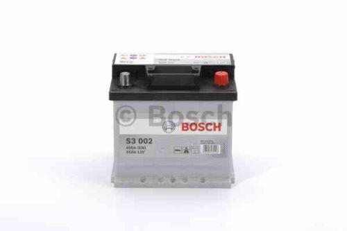 Autobaterie BOSCH Black S3 002, 45Ah, 12V, 400A, 0 092 S30 020