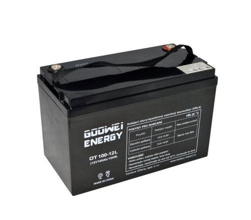 Trakční (gelová) baterie YUCELL OTL100-12, 100Ah, 12V ( VRLA )