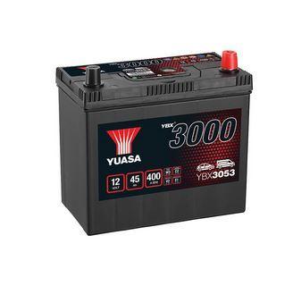 Autobaterie Yuasa YBX3000, 45Ah, 12V, 400A (YBX3053) - Japan Pravá