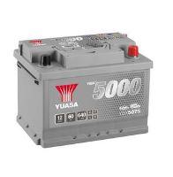 Autobaterie Yuasa Silver High Performance 60Ah, 12V, 640A (YBX5075)