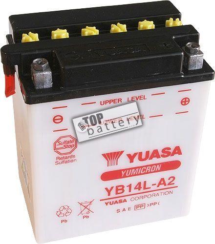 Motobaterie Yuasa YB14L-A2, 12V, 14Ah