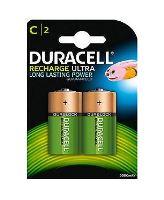 Baterie Duracell Stay Charged, C, 3000mAh, nabíjecí, (Blistr 2ks)