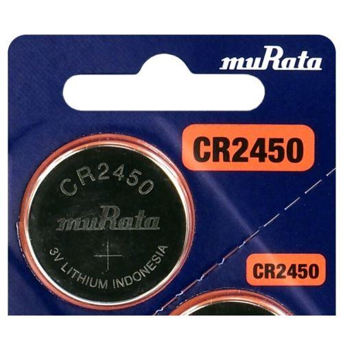 Baterie Murata CR2450, Lithium 3V, (Blistr 1ks)
