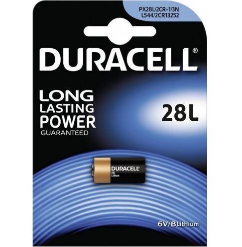 Baterie Duracell 2CR1/3N, PX28L, Lithium, fotobaterie, (Blistr 1ks)