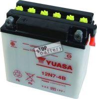 Motobaterie YUASA 12N7-4B, 12V, 7Ah