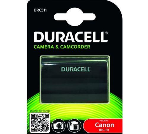 Baterie Duracell Canon BP-511, BP-522, 7,2V (7,4V) - 1600mAh